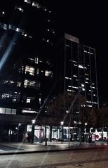 Instagram - daniel.angel.gutierrez (dagutierrez2001) Tags: sandiego tree streetlamp street dark building photography shotoniphone