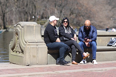 People at the Bethesda Terrace in Central Park. (kevinrubin) Tags: newyorkcity street streetphotography nyc newyork unitedstates us