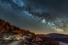 Milchstrasse mit Zentrum im April (Eisenbügel) Tags: 2018 astro berge langzeitbelichtung lü milchstrasse milchstrase nachtaufnahme schweiz milkyway night nacht stars sterne exposure