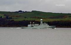 HDMS Vædderen (Zak355) Tags: jointwarrior navy exercise scotland scottish frigate ship boat vessel warship riverclyde f359 hdmsvædderen