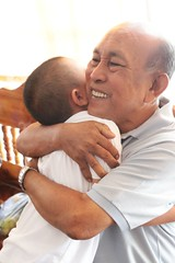 Back to home (ajkarn) Tags: thailand songkhla culture monk buddha buddhism little grandpa
