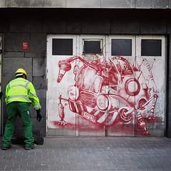 #robowars / #art by #FeoFlip. . #Gent #Belgium #streetart #graffiti #urbanart #graffitiart #streetartbelgium #graffitibelgium #visitgent #urbanart_daily #graffitiart_daily #streetarteverywhere #streetart_daily #mural #ilovestreetart #igersstreetart #gentj (Ferdinand 'Ferre' Feys) Tags: instagram gent ghent gand belgium belgique belgië streetart artdelarue graffitiart graffiti graff urbanart urbanarte arteurbano ferdinandfeys feoflip