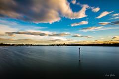 Water and clouds (Juan Galián) Tags: water lago lake largaexposición landscape largaexposicióndiurna laguna clouds paisaje puestadesol sunset sky spain murcia agua atardecer nature naturaleza españa humedal canon60d tokina