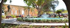 Upper Barakka Gardens, Malta (M McBey) Tags: malta valletta gardens barakka