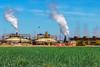 Salton Sea Power Plant (Stevie Benintende) Tags: agriculture power saltonsea smoke sky industry environment greenfields geothermalpowerplant energy field