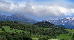 Erimanthian Spring (GEORGE TSIMTSIMIS) Tags: spring peaks outdoors country chapel hills clouds pentaxk1 fullframe erimanthos patras achaia outdoorphotography greece pentaxhdfa70200mmf28eddcaw