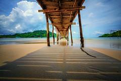Millipede (Stan Smucker) Tags: beach pier kohkood kokut travel