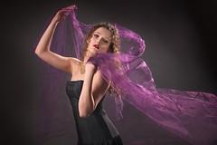 ModelPeace_13 (jim.choate59) Tags: on1pics jchoate model portrait peace scarf ballet dance d610 purple