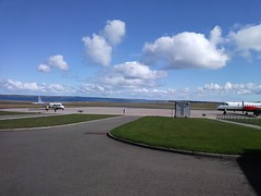Journey home - Kirkwall Airport (tewinfelix) Tags: kirkwall airport orkney