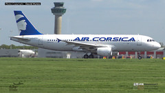 Air Corsica F-HZFM Airbus A320 London Stansted AIrport Inaugural First Flight 3 May 2018 (bananamanuk79) Tags: planewatch pictures aviation airplane airport london flying flight runway air travel transport pilot avgeek airways takeoff departure flyer vehicle outdoor airliner jet jetliner airbus lovers flyers travelling holiday jumbo logo livery painted southend photos jets aircraft stansted aircorsica corsica inaugural firstflight fhzfm a320 airbusa320 aircorsicalondonstanstedairport aircorsicalondon