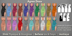Mutresse@C88 May 2018 - Agnes Dress Info (Eeky Cioc) Tags: second life original mesh events night out