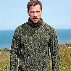Men in aran fisherman turtleneck (Mytwist) Tags: свитерамужскиевязаные husband mens mans male wedding gift qx aranstyle aran aranjumper aransweater arran fisherman irish donegal fashion vintage heritage dublin wool sweater jumper pattern honeycomb cabled craft classic design exclusive knitwear love passion traditional timeless thick grobstrick turtleneck retro casual soft cozy bulky heavy knitted handgestrickt modern men wife mytwist raglan textured