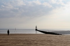 Crosby Beach, Liverpool (cattan2011) Tags: 英国 sunset beach waterscape seascape traveltuesday travelphotography travelbloggers travel naturelovers natureperfection naturephotography nature landscapephotography landscape liverpool crosbybeach