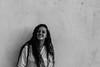 Black and white smile. (Celia Rico.) Tags: black white smile beautiful bonita bonito blanco belleza beauty photography photo picture pic portrait persona person pelolargo negro foto fotografia fotografía friend sonrisa smiling spain españa wall retrato chica pelo largo long longhair hair women mujer girl love amor shot