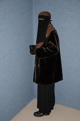 Niqab Girl (Warm Clothes Fetish) Tags: hijab burka chador niqab girl hot warm sweat torture fur coat winter anorak boots hat
