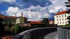 Viharos városi fellegek (Szombathely) (milankalman) Tags: city building storm clouds dark summer weather
