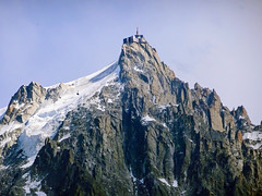 Cable car on the way to Aiguille du Midi. Chamonix. (elsa11) Tags: aiguilledumidi montblancmassif chamonix glacier lespelerinsglacier pitonnord alps alpes alpen mountains hautesavoie rhonealps montagnes frankrijk france gletscher gletsjer cablecar