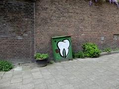 Graffiti (oerendhard1) Tags: graffiti streetart urban art vandalism illegal rotterdam oerendhard kha kies tand