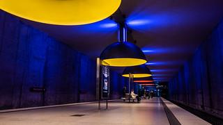 Subway station Westfriedhof Munich