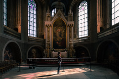 Revelation - Turku, Finland - Travel photography (Giuseppe Milo (www.pixael.com)) Tags: photo religious girl turku cathedral travel finland photography religion architecture woman jesus europe church light onsale