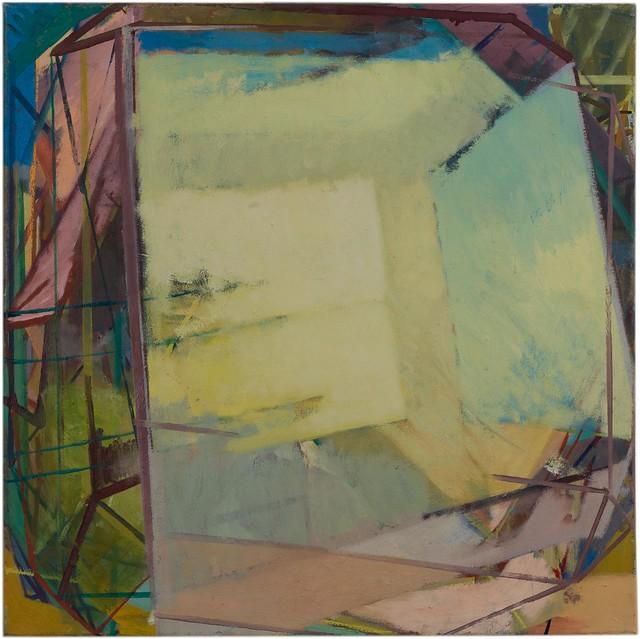 KatEtaPP, 120 x 120 cm, Eggtempera/Oil 2015