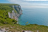 White Cliffs of Dover (Geoff Henson) Tags: sea ocean water sky clouds cliffs beach grass flower footpath pathway