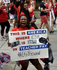 NC Teachers rally in Raleigh NC for more pay. (Apartment 4 G Photography.....) Tags: ncea redfored teachers rayriveraphoto raleighnc rivera legislators afscme politicians schools nc wakecounty northcarolina unions