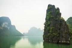 Vietnam | Ha Long Bucht 41 (Wolfgang Staudt) Tags: halongbucht halong vịnhhạlong golfvontonkin vietnam nordvietnam asien felsen inseln bucht kalksteinfelsen weltkulturerbe schiffe attraktion tourismus karstkarren