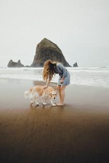 calm on the beach