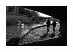 Paris n°199 (Nico Geerlings) Tags: ngimages nicogeerlings nicogeerlingsphotography paris france seine bridges pont quai river quaidemontebello leicammonochrom 50mm summilux streetphotography