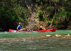 Canoeists on Buffalo River - Steel Creek Campground, Northwest Arkansas (danjdavis) Tags: buffalorivr buffalonationalriver arkansas canoeists canoe canoeing