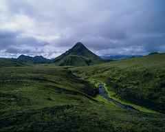 Living stream (JaZ99wro) Tags: exif4film iceland e6 velvia50 f0348 islandia highlands pentax67ii opticfilm120 tetenal3bathkit analog film