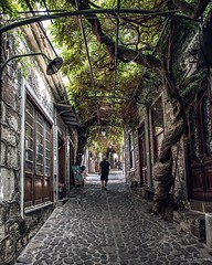 Traveling in Molyvos village - Mytilene greek island. (couvanos) Tags: traveler july june august weekend daylight street urban beauty photography traveling travel nikon holidays vacations greece island greek lesvos mytilene molivos molyvos