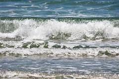 Fascination (eyriel) Tags: ocean sea atlantic water movement splash wave waves beach huntingtonbeachsc summer