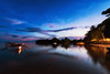 Sparks (Lemuel Montejo) Tags: sunset dusk twilight dramatic sky riverbank sun jetty standingwater shore beach bohol baclayon reflection water sea lemuelmontejoartworks mvisuals