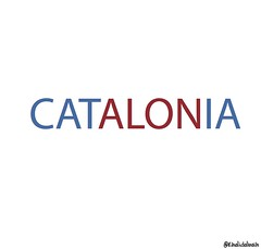 catalonia (khalid Albaih) Tags: khartoon khalidalbaih sudan cartoon illustration palestine israel gcc qatar mbs mbz trump السودان خرطون خالد البيه كركتير
