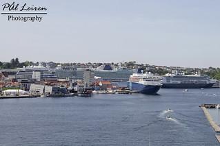 Cruise ships - Stavanger Harbour - 2018.05.21