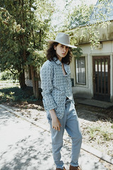 Otto (vinayakjnavalur1) Tags: ifttt 500px path scarf happy daytime jeans walkway weekend fresh air satisfaction female trousers pathway outdoors summer model