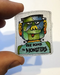 1975 Frankenstein Shrinky Dink (gregg_koenig) Tags: 1975 frankenstein shrinky dink 70s 1970s monster monsters dinks