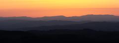Patagonia (DAWPhotog) Tags: sunset mountains hills layers panoramic landscape orange colour colourful mood drama fade hiking walking adventure exploration beautiful beauty sky fire sunrise sun nature national park england uk europe travel roadtrip view scenery scenic breattaking breathtaking silhouette