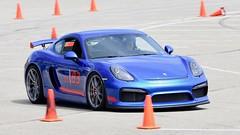 "A new ""look"" for a new season. #1 (R.A. Killmer) Tags: gt4 pax monster cayman porsche blue beauty fast horsepower wow worldcars 2018 2016 autocross scca nhscc driver race racer fun quick"