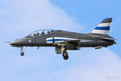 HW-339 Finnish Air Force BAe Hawk Mk51, EFTP, Finland (Sebastian Viinikainen.) Tags: hw339 bae hawk mk51 eftp finland airforce finnish air force military aircraft faf special livery