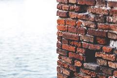 Modellino (quekiwi) Tags: contrasto acqua castelvecchio brick wall