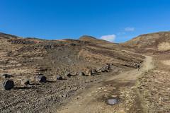 DSC04599 (Guðmundur Róbert) Tags: iceland moutain biking mtb bikes mountain hjól reiðhjól hjóla cycling mountains sky blue sony a7ii kit lens landscape intense cube 29er downhill uphill view island ísland black white