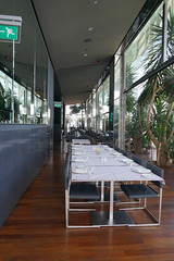 2018-04-FL-183640 (acme london) Tags: barcelona fira hotel hotelrestaurant interior jeannouvel renaissancehotelfira restaurant seating seatingfurniture spain