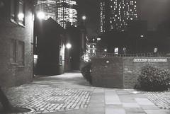 Thrawl Street (goodfella2459) Tags: nikon f4 af nikkor 50mm f14d lens ilford delta 400 35mm blackandwhite film analog night thrawl street whitechapel east end london mary ann nichols jack ripper crime history bwfp