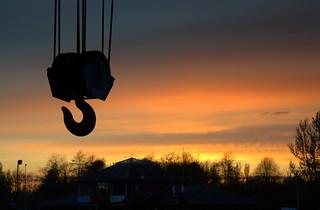 Sunset hook