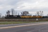NS 16N @ Reading, PA (Dan A. Davis) Tags: norfolksouthern ns readingline reading pa pennsylvania railroad freighttrain locomotive train union pacific d944cw sd60m sd70m 16n