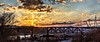 8R9A0915-16Ptzl1scTBbLGERk (ultravivid imaging) Tags: ultravividimaging ultra vivid imaging ultravivid colorful canon canon5dm3 clouds sunsetclouds sky scenic trestle traintrestle sunset spring river pennsylvania pa panoramic painterly landscape lateafternoon twilight