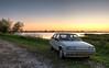 Citroën BX 19 TRI (Skylark92) Tags: nederland netherlands holland noordholland amsterdam durgerdam uitdammerdijk sunset zonsondergang hdr citroën bx 19 tri xr10rd 1989 blanc cremant